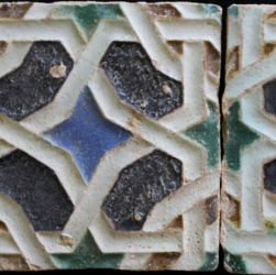 A pair of Arista tiles