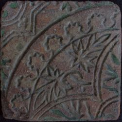 German floor tile XIV C.